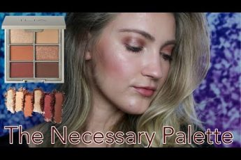 FALL MAKEUP LOOK USING THE ILIA BEAUTY THE NECESSARY PALETTE IN WARM NUDE | CLEAN, TOXIC-FREE MAKEUP