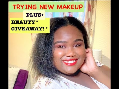 ALLURE BEAUTY BOX GIVEAWAY! ||TRYING ON/REVIEWING A NEW MAKE UP LINE|| MOCHA COSMETICS ||