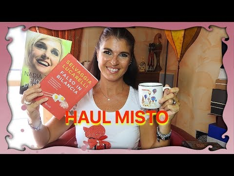HAUL MISTO. Libri, Makeup, Beauty and More! Manuela Rodriquez