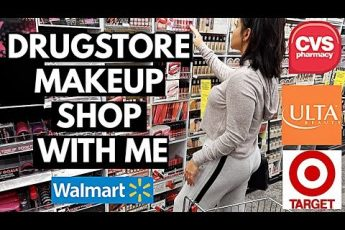DRUGSTORE MAKEUP SHOP WITH ME: CVS, WALMART, TARGET + ULTA! | JuicyJas