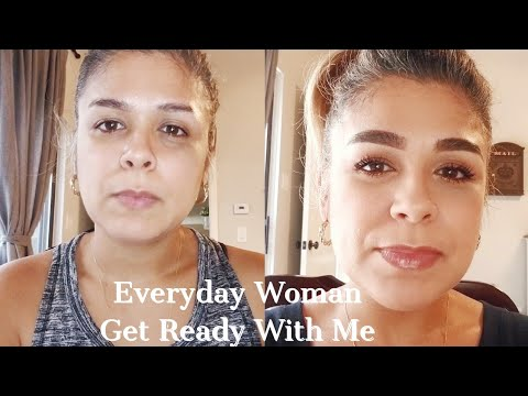 EVERYDAY WOMAN   GET READY WITH ME   OVER 40 MAKEUP LOOK