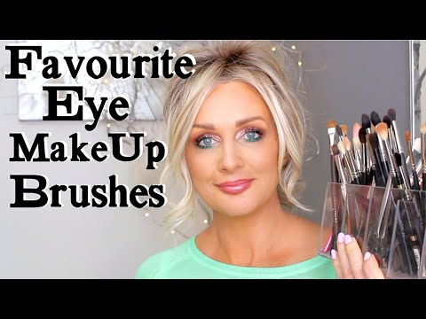 FAVORITE EYE MAKEUP BRUSHES AND WHAT I USE THEM FOR