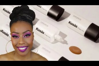 Best Foundation for Mature Skin and Dry Skin? ☆ Over 40 ☆ Kosas Tint Face Oil Foundation