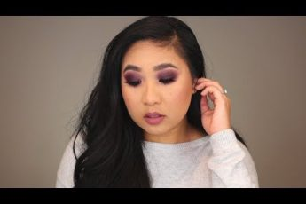 EASY Deep Purple Smokey Eye | Fall Makeup Tutorial Using the Morphe 39S Such a Gem Palette