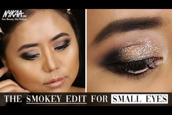Smokey Eye Makeup Tutorial For Small Eyes & Hooded Eyes Ft. MUA Annalia Zhimomi | Nykaa