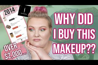 All The Makeup I Bought At Sephora in 2014!! Lots of Regrets… | Lauren Mae Beauty