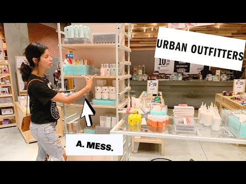I TRIED MAKEUP FROM URBAN OUTFITTERS … and it was interesting….