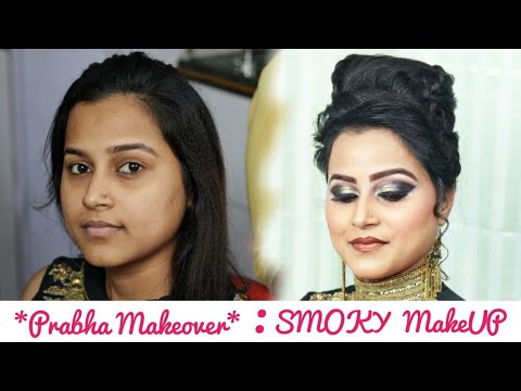 Smoky Eye Makeup Tutorial By Prabha Makeover