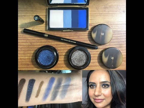 NEW Victoria Beckham Beauty Eyes: Royal Blue, Lid Lustre & Satin Kajal Liner