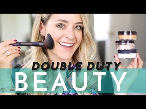 DOUBLE DUTY BEAUTY: Makeup with Skincare Benefits! (Ad)