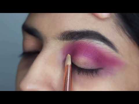 Neon Eye Makeup | Huda beauty Neon Orange Neon Pink | Saffiyah Quadri