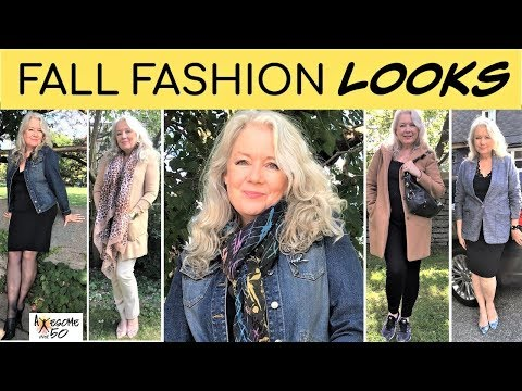 Fall Fashion | Style for Mature Women over 50 for 2019