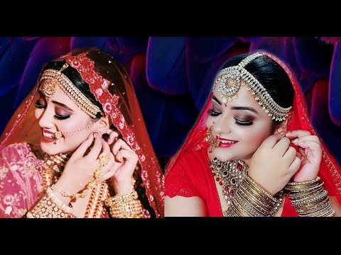 Shivangi Joshi Inspired Bridal Makeup Tutorial | Naira's Bridal Look | Priaz Beauty Zone