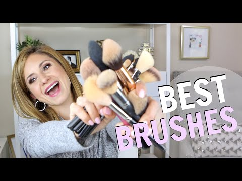 My Favorite Makeup Brushes For EVERY Application (Face, Eyes, Powders, Foundations)