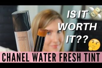 Chanel Les Beiges Water Fresh Tint Review | Foundation Road Test | Over 40 Beauty