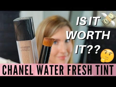 Chanel Les Beiges Water Fresh Tint Review   Foundation Road Test   Over 40 Beauty