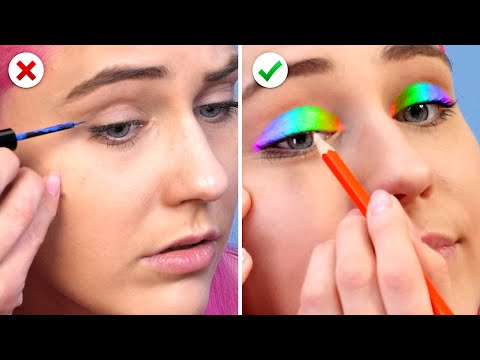 10 Useful Beauty Hacks and More DIY Makeup Ideas for Smart Girls