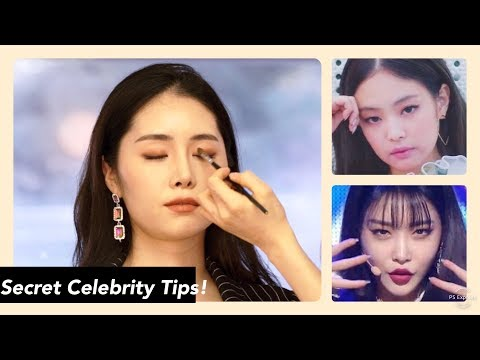 Celebrity Makeup Artist Transforms Me into Jennie & Chungha | K-beauty