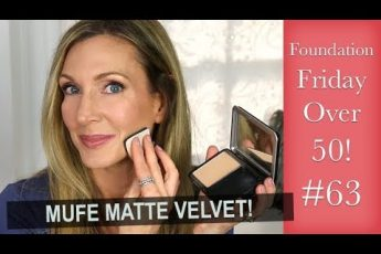 Foundation Friday Over 50! Make Up For Ever Matte Velvet Powder!