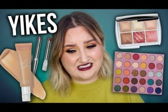 YIKES… FULL FACE FIRST IMPRESSIONS TESTING NEW MAKEUP