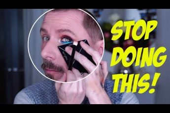 STOP DOING YOUR HOODED EYES LIKE THIS!