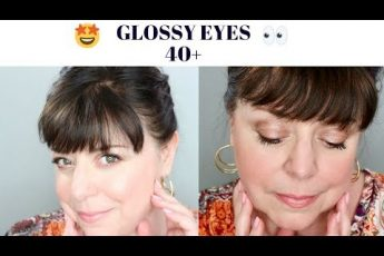 Glossy Eyes for Women 40 and Better