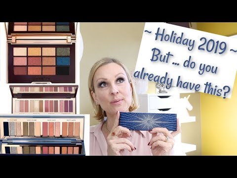 Starry Eyes to Hypnotise Palette | Is this years palette a dupe? Beauty over 50