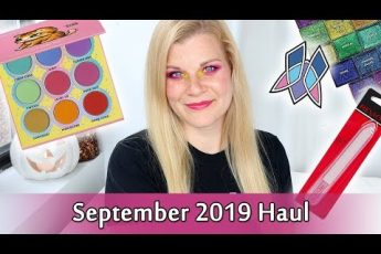 What I Bought This Month – September 2019 Beauty Haul | Makeup Your Mind