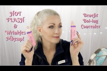 HOT FLASH & Wrinkles Makeup! #119 – Benefit Boi-ing Cakeless Concealer – BentlyK