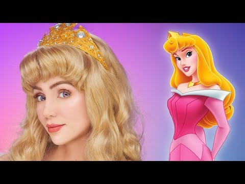 Sleeping Beauty Makeup Tutorial | Princess Aurora Transformation