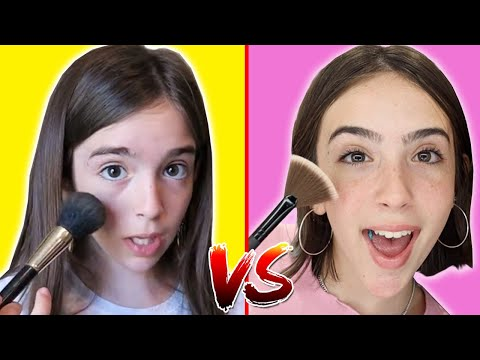 MAKEUP TUTORIAL – THEN vs NOW