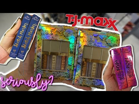 TJ MAXX HAD THIS?! BUDGET BEAUTY BUYS | HIGH END MAKEUP FOR CHEAP!!