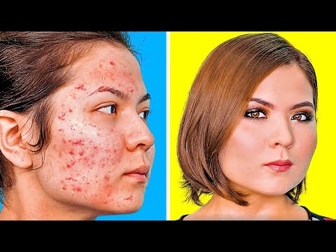 MAKEUP TRANSFORMATIONS || 10 HOLY GRAIL MAKEUP IDEAS YOU WILL FIND USEFUL