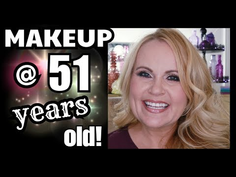 Makeup For Mature Skin 50 Plus ~ Age Spots & Wrinkles ~ Crepey Eyes & Large Pores
