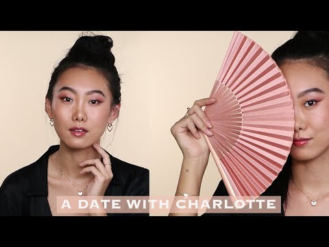 Pink makeup look -Charlotte Tilbury Starry Eyes to Hypnotise & Pillow Talk Pop 约会眼妆 핑크메이크업