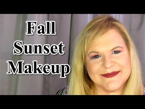 Drugstore Fall Sunset Makeup Tutorial (Perfect for Hooded Eyes)