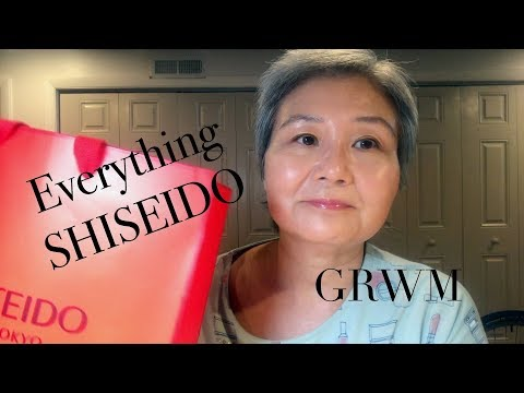 Shiseido GRWM | Simple Mature Makeup | Glass Skin Look | No makeup makeup