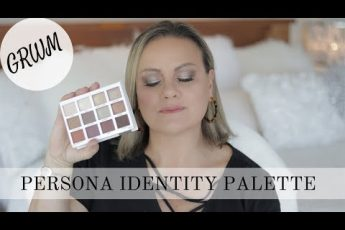 Persona Cosmetics Identity Palette – GRWM/hooded eyes/makeup for mature skin