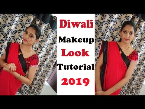Diwali Makeup Look Tutorial 2019 | Glowy Skin, Sparkly Eyes | My Daily Snippets