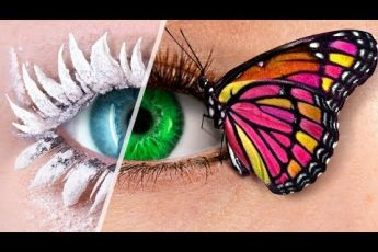9 DIY Weird Makeup Ideas / Fairy Makeup