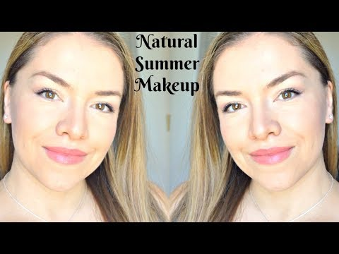 GLOWY SUMMER MAKEUP ROUTINE | Everyday Natural Makeup – No Foundation