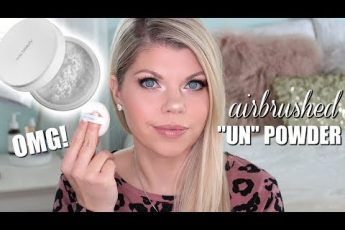 "GLAM ORGANIC MAKEUP TUTORIAL & RMS Beauty ""Un"" Powder Trick!"