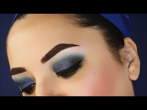 Electric Blue Smokey Eyes Makeup Tutorial | SweetMakeup ♥