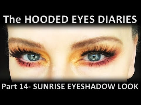 Easy, Soft?☀️NATASHA DENONA SUNRISE PALETTE TUTORIAL?☀️HOW TO HOODED EYES MAKEUP TUTORIAL