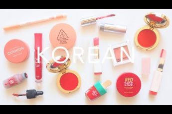 Trying Korean Makeup | Laneige, 3CE, Etude House from YesStyle | AD