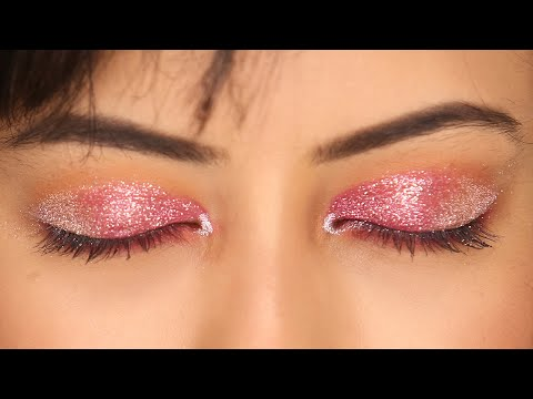 Diwali Makeup Tutorial | Pink & Silver Festive Eye Makeup Look | Makeup 101 | Femina
