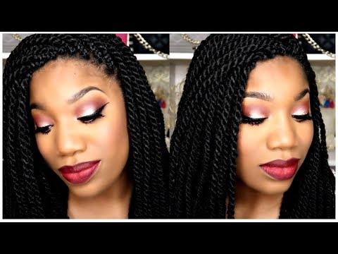 NEW! ELF HOLIDAY PALETTE ♡ HAUTE CHOCOLATE EYES SPICE ♡ FALL GRWM MAKEUP TUTORIAL