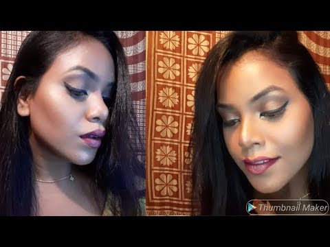 Full face highlighter make up tutorial || upama's world|| ❤❤❤