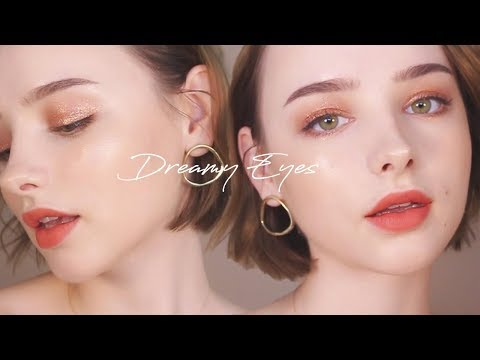Calm Dreamy Glitter Eyes Tutorial ✨ Easy & Effortless Makeup [Pony Effect Giveaway] | Sissel