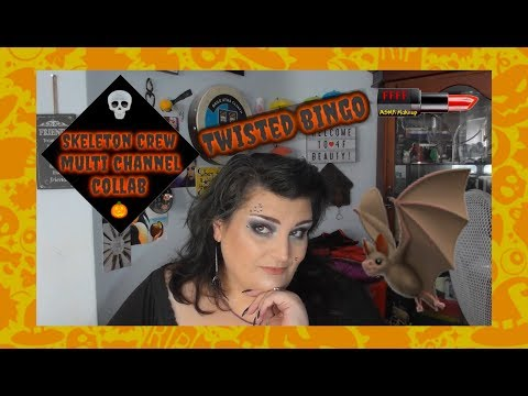 Skeleton Crew | Multi Channel Collab | Twisted Bingo | ASMR Makeup
